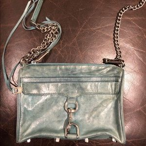 Rebecca Minkoff purse turquoise leather